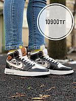 Кеды выс Nike Air Jordan Dior черный, фото 1