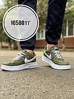 Кеды Nike Air Force Dior хаки, фото 1