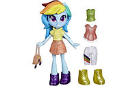 Hasbro MLP. Пони Девочки из Эквестрии с нарядами Радуга Дэш E9245