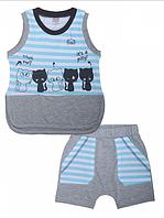 Комплект для мальчика (майка,шорты)