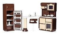 """Кукольная мебель для кухни """"Коллекция"""", Огонек"""