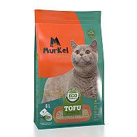 Муркель Тофу Соевый наполнитель Зелёный чай, 6 л