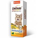 Паста UNITABS ImmunoCat Q10 с таурином для кошек от 1 года до 8 лет, 120мл