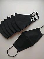 Многоразовая маска ХБ трехслойная