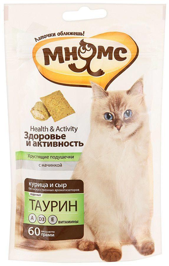Лакомство для кошек Мнямс Здоровье и активность