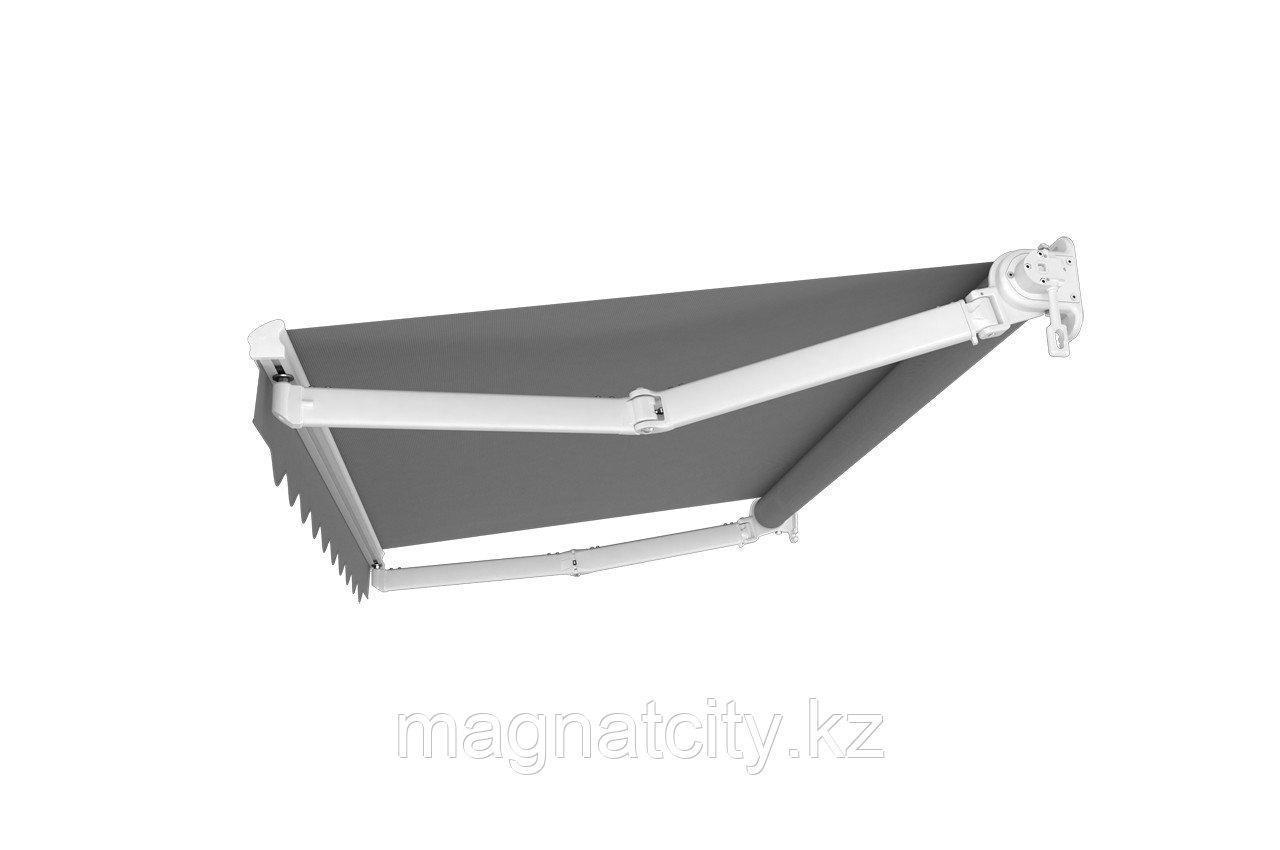 Выдвижная маркиза - навес 3х2.5м., серый