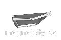 Выдвижная маркиза - навес 4х2.5м., серый