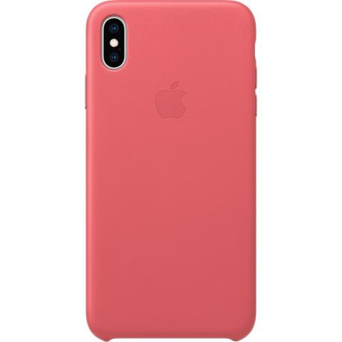 IPhone XS Max Leather Case - Peony Pink, Model - фото 1