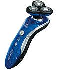 Бритва Centek CT-2170 (синий) ротор 3D, ВЛАЖНОЕ БРИТЬЁ, 3 плав.головки, 2-ные лезвия, до 50 мин работы