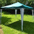 Шатер, тент, торговая палатка аллюминевый (3х3м) с сумкой, синий, фото 3