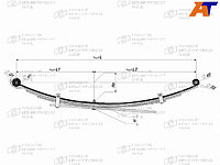 Коренной лист рессоры MMC L200 / TRITON 2005-