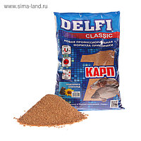 Прикормка Delfi Classic карп, подсолнух/шоколад, вес 0,8 кг