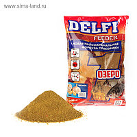 Прикормка Delfi Feeder-Озеро чеснок, вес 0,8 кг.