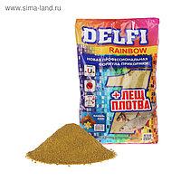 Прикормка Delfi Rainbow Лещ-Плотва анис/ваниль, зелёный, вес 0,8 кг.