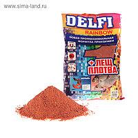 Прикормка Delfi Rainbow Лещ-Плотва мотыль, красный, вес 0,8 кг.
