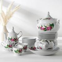 Набор столовой посуды 'Идиллия. Колокольчики', 34 предмета