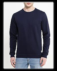 """Свитшот Х/Б, 52(XL) """"Unisex"""", Турция, цвет: темно-синий"""