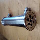 """Холодильник трубчатый DN 2 (40cm, 7 трубок d10мм, выход 1/2"""" нар.резьба), фото 2"""