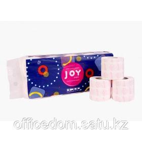 "Бумага туалетная ""Joy"" 2-слойная, 100% целлюлоза, 10 рул/упак"