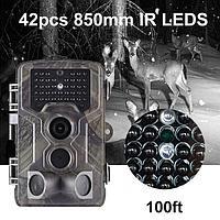 Охотничья камера Водонепроницаемая HD инфракрасная камера ночного видения HC-800A