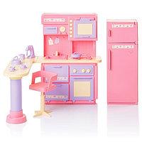 """Кукольная мебель для кухни """"Маленькая принцесса"""", Огонек"""