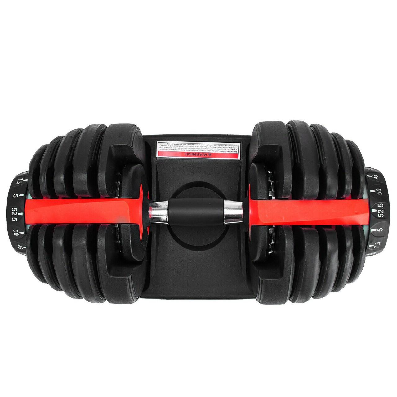Автоматическая регулируемая гантель - гантель с регулируемым весом 24 кг - фото 3