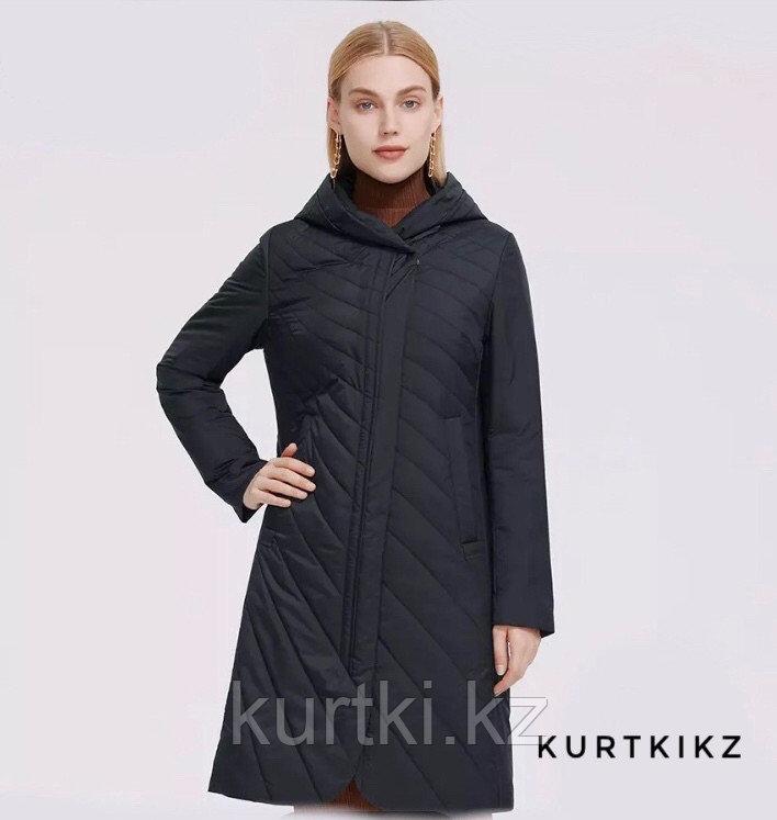 Женская весенняя куртка чёрная