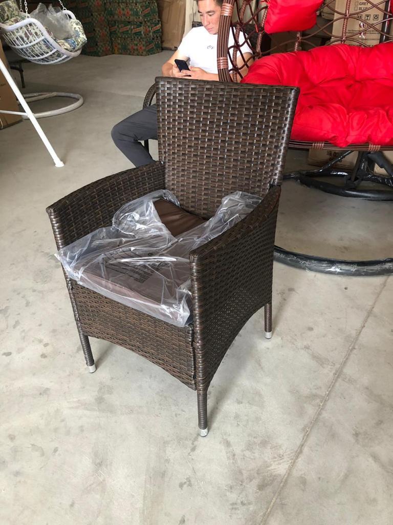 Кресло искусственный ротанг КОРОНА