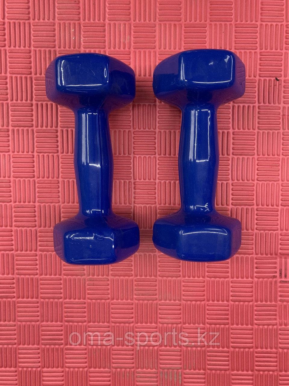 Гантели резиновые 3 кг - фото 2