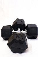 Гантель шестикрайний 9 кг
