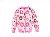 Толстовка для девочки розовый