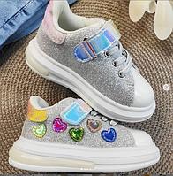 Весенние кроссовки для девочки