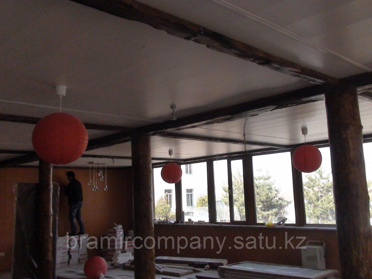 Балки для интерьера с имитацией дерево - фото 1