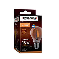 Лампа светодиодная LED FILAMENT А60 10W Е27 4000K