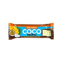 Батончик Snaq Fabriq - Батончик в шоколаде COCO (Манго-маракуйя), 40 гр
