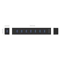 USB Хаб ORICO H7013-U3-AD-EU-BK-BP