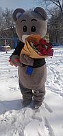 Тедди мишка ростовая кукла на дом с поздравлением