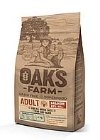 OAKS FARM GF сухой корм для кошек Лосось 6кг, фото 1