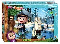 """Мозаика """"puzzle"""" 60 """"Маша и Медведь - 2"""" (Анимаккорд)"""