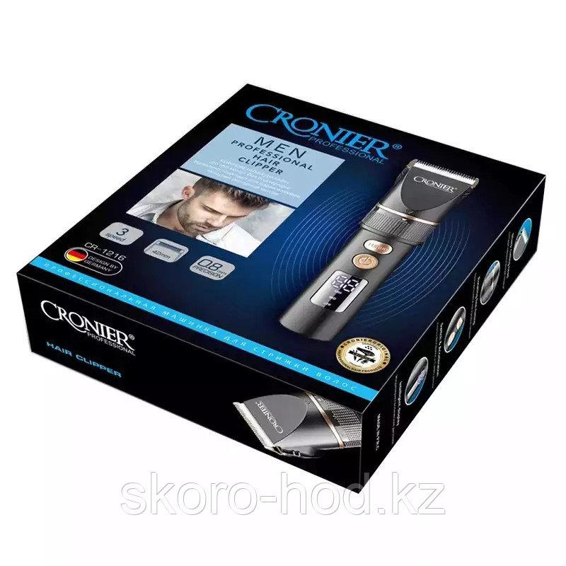 Беспроводная машинка для стрижки волос Cronier