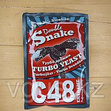 Дрожжи Double Snake C48 Turbo yeast 130гр.