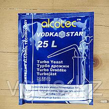 Дрожжи Alcotec Vodka star Turbo yeast 66гр.
