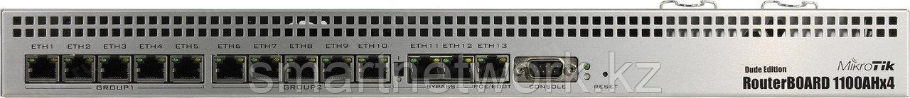 MikroTik RouterBOARD Dude Edition 13-ти портовый  мощный гигабитный маршрутизатор от MikroTik