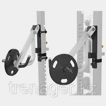 MATRIX MAGNUM OPT17R Рычаги для жима для силовой рамы MEGA Power Rack (ЧЁРНЫЙ)