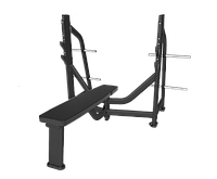 SVENSSON INDUSTRIAL E7043 Matte Black Горизонтальная скамья для жима