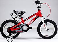 """ROYAL BABY Велосипед двухколесный SPACE NO.1 ALLOY 18"""" красный и оранжевый"""