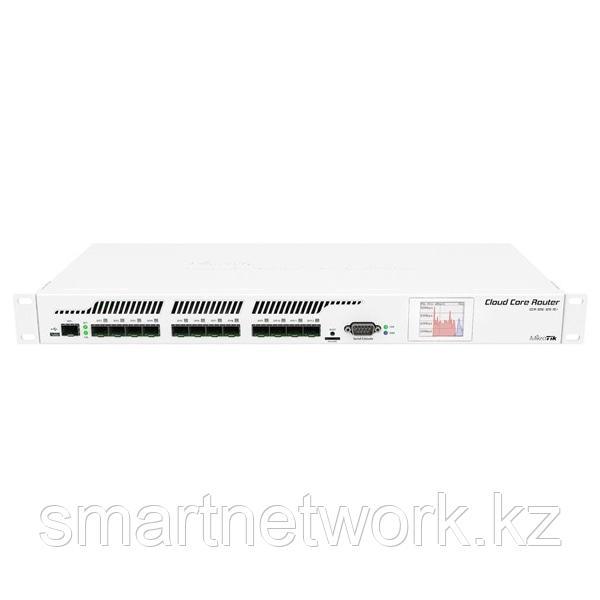 MikroTik Cloud Core Router 1U, клетка 12xSFP, клетка 1xSFP +, 16 ядер x 1,2 ГГц, 2 ГБ ОЗУ, ЖК-панель