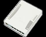 Коммутатор MikroTik CSS106-5G-1S, 5x10/100/1000 Ethernet, 1xSFP 1000, DDMI, SwOS, фото 2