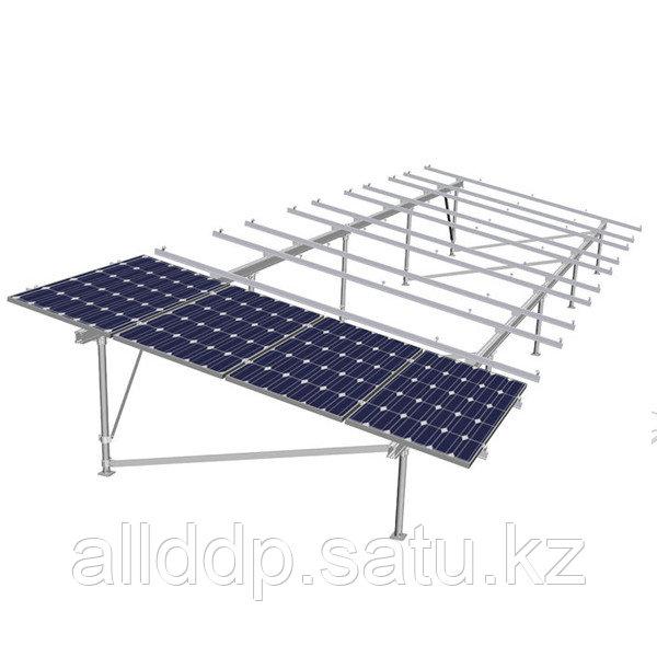 Статическая наземная система на 24 модулей, оцинковка