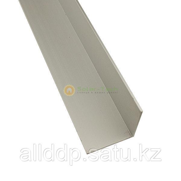 Алюминиевый уголок 50х50х3 для формирования угла наклона солнечных панелей